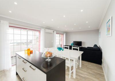 T3 - Cozinha e sala de estar